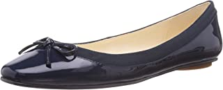 Buffalo Women's 207-3562 Patent Leather Closed Toe Ballet Flats