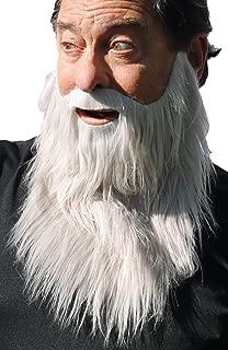 Realistic 9 Inch Long Beard and Mustache, Lumberjack Hipster Beard Costume, Self Adhesive One Piece