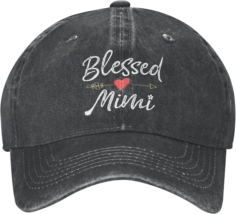 Best Mom Ever Hat Baseball Cap, Vintage Cotton Dad Hat Sun Cowboy Hat, Jeans Denim Cap for Men Women Outdoor