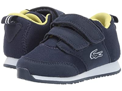 Lacoste Kids L.ight (Toddler/Little Kid) (Navy/White 1) Kids Shoes