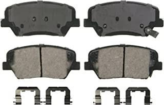 Wagner QuickStop ZD1432 Ceramic Disc Pad Set Includes Pad Installation Hardware, Front