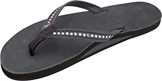Best black rainbow sandals with crystals Reviews