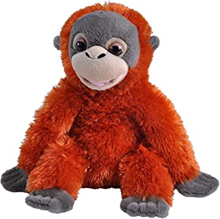 Wild Republic Smileys Orangutan Plush, Stuffed Animal, Plush Toy, Kid Gifts, 10""