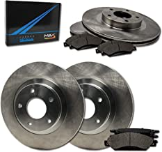 Max Brakes Front & Rear Premium Brake Kit [ OE Series Rotors + Metallic Pads ] TA024243 Fits: Volvo 2001-2007 S60 & V70 | 1999-2006 S80 | 2003-2007 XC70