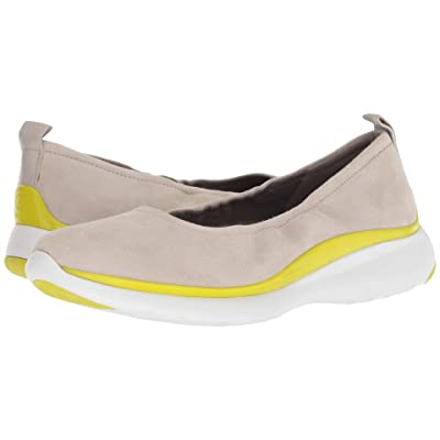 Cole Haan 3.Zerogrand Ruched Slip-On (Dove/Sulpher Spruce) Women