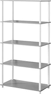 Mainstays No Tools Assembly Shelving Storage Unit (8-Cube, White)