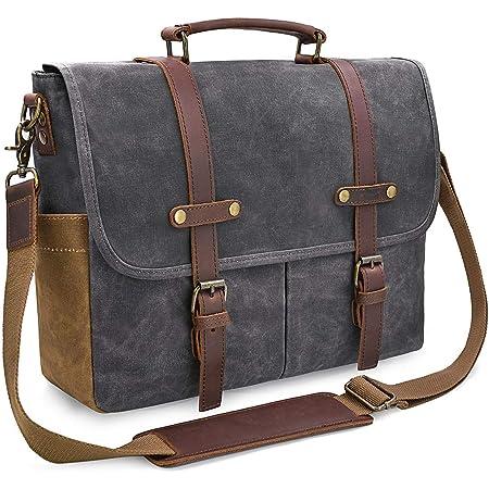 Lightweight 15 inch Laptop Bag Business Messenger Briefcases Car Waterproof Computer Tablet Shoulder Bag Carrying Case Handbag for Men and Women
