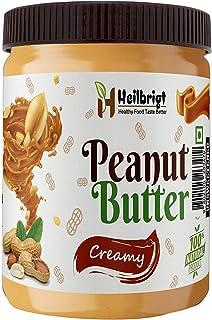 HEILBRIGT Natural Creamy Peanut Butter ( 500GM )