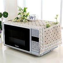 HHYK Cubierta de microondas Horno microondas Campana Aceite Protector contra el Polvo con Bolsa de Almacenamiento Accesorios Cocina de la Caja Organizador Inicio Decoración (Color : Style 2)