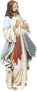 Jesus Christ Divine Mercy Renaissance Collection 9.5 Inch Resin Stone Statue Figurine