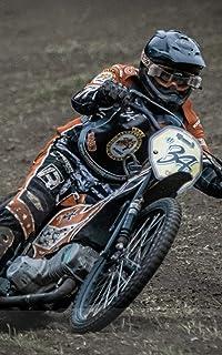 Notebook: Speedway Motorcycle Motorcycling Bike 5