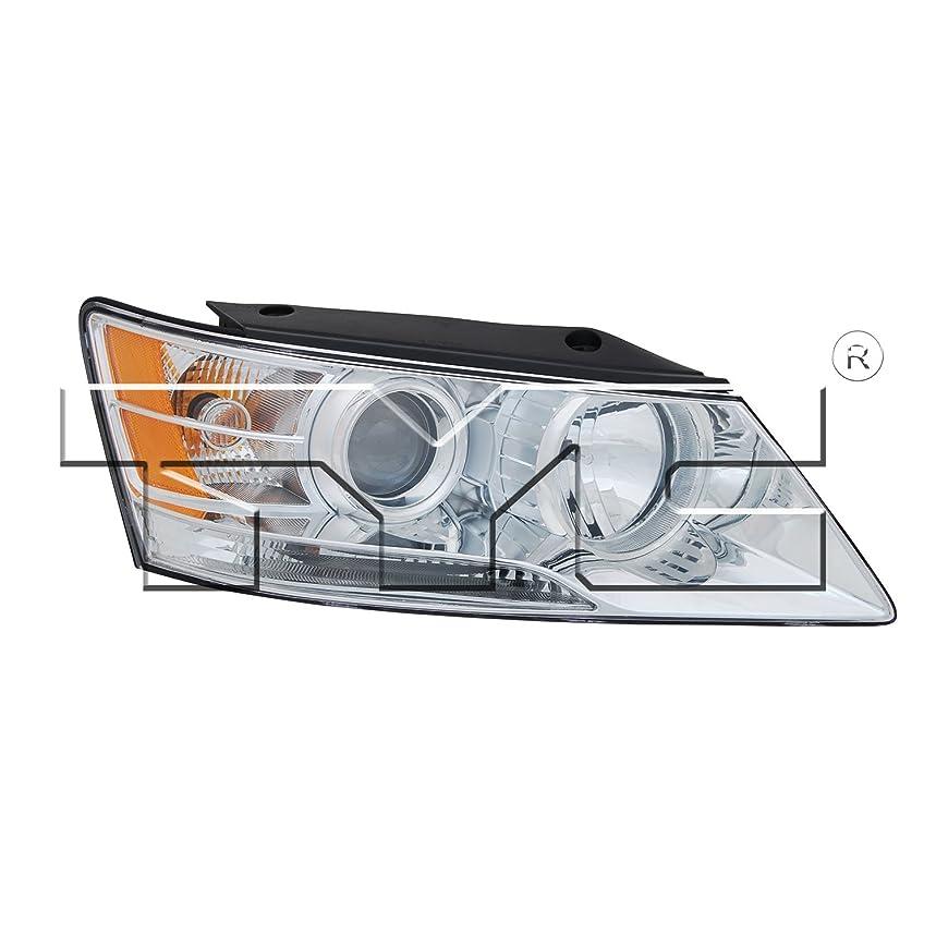 TYC 20-9011-00-1 Hyundai Sonata Right Replacement Head Lamp