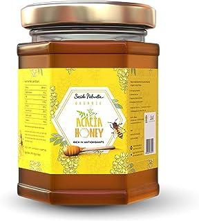 Societe Naturelle - Acacia Organic Honey - 340gms / Rich in Anti Oxidants / Certified Honey / Pure Raw Unpasteurized Unpro...