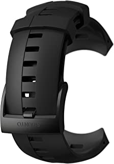 Suunto, Original Ersatz Uhrenarmband für alle Suunto Spartan Sport Wrist HR Uhren, Silikon, Länge: 24,5 cm, Stegbreite: 25 mm, Inkl. Stifte zur Montage