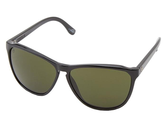Electric Eyewear Encelia (Gloss Black/Ohm Grey) Sport Sunglasses