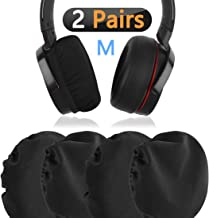 Geekria Flex Fabric Headphone Earpad Covers/Stretchable and Washable Sanitary Earcup Protectors. Fits 3