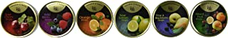 Cavendish & Harvey Hard Candy Drops Variety Pack - 6 Flavors, 5.3 oz Tins