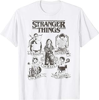 Netflix Stranger Things Group Shot Classes T-Shirt