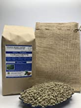 5 Pounds – African - Ethiopia Yirgacheffe - Unroasted Arabica Green Coffee Beans – Varietal Ethiopian Heirloom – Drying/Milling Process Washed SunDried – Unique Distinctive Taste - Includes Burlap Bag
