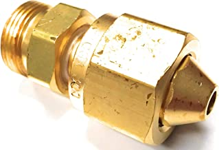 Western Enterprises 316 Brass Cylinder Adaptors, from CGA-300 Commercial Acetylene to CGA-520