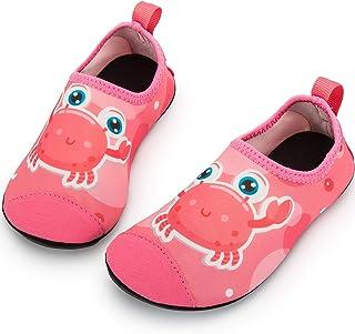 Crova Kids Water Shoes Quick Dry Aqua Socks Non-Slip...