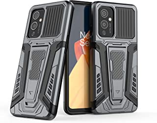 Wuzixi Compatible with Oppo A95 5G Case, TPU/PC 2 in 1 Mixed Armor Protective Cover Case, Double Protection shell, Built-i...