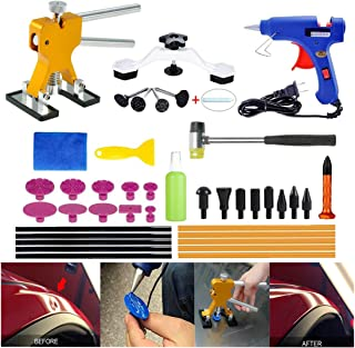Car777 Suction Cup Car Dent Puller Heavy Duty Glass Lifting Blue 2 inches Small Dents Remover for Car Dent Repair