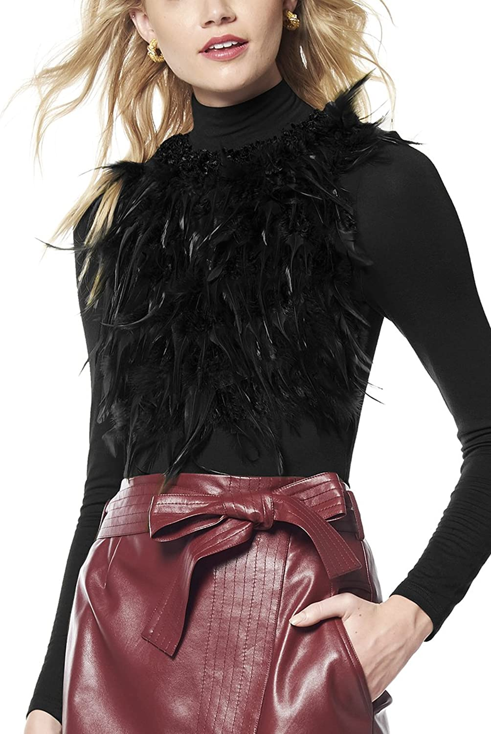 Gracia Front Fur Attached Jersey