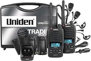 Uniden UH850S-2TP - 5 Watt UHF Waterproof CB Handheld - Tradies Pack