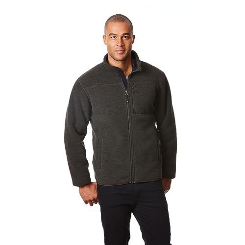 a07c5551c13 32 DEGREES Men Fleece Sherpa Jacket