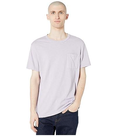 J.Crew Garment-Dyed Slub Cotton Crewneck T-Shirt (Grape Mist) Men