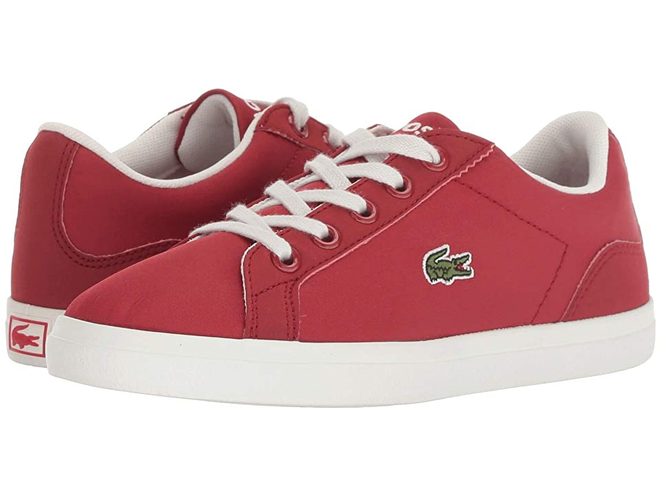 Lacoste Kids Lerond (Little Kid) (Red/Off-White) Kid