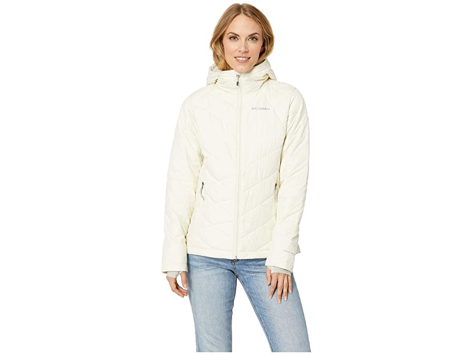 Columbia Heavenly Hooded Jacket (Light Bisque) Women