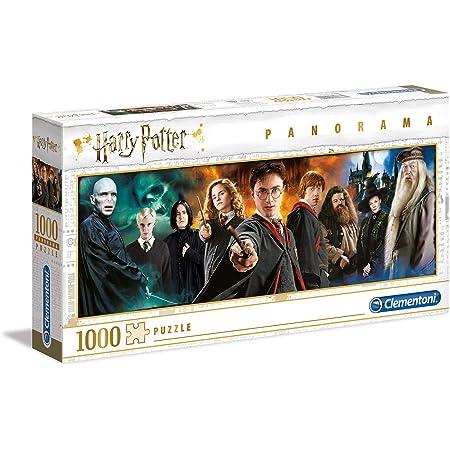 Clementoni Harry Potter-1000 pièces-Puzzle Adulte-fabriqué en Italie, 61883, Multicolore