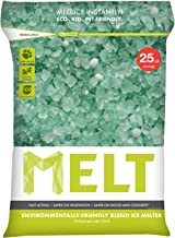 Snow Joe MELT25EB MELT 25 Lb. Resealable Bag Premium Environmentally-Friendly Blend Ice Melter w/ CMA