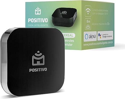 Smart Controle Universal Wi-Fi Positivo Casa Inteligente, All-in-One, controle pelo celular ou comando de voz, infrav...