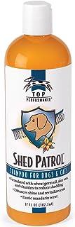 Top Performance Shed Patrol De-Shedding Dog and Cat Shampoo, 17-Ounce