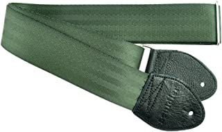 Souldier Custom GS0000FG04BK Recycled Seatbelt Electric Guitar Strap, Forest Army Green