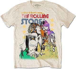 ROLLING STONES ローリングストーンズ Ladies & Gentlemen/Tシャツ/メンズ 【公式/オフィシャル】