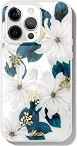 Sonix Delilah Flower Case for iPhone 13 Pro Max [10ft Drop Tested] Protective Women's White Floral for Apple iPhone 13Pro Max