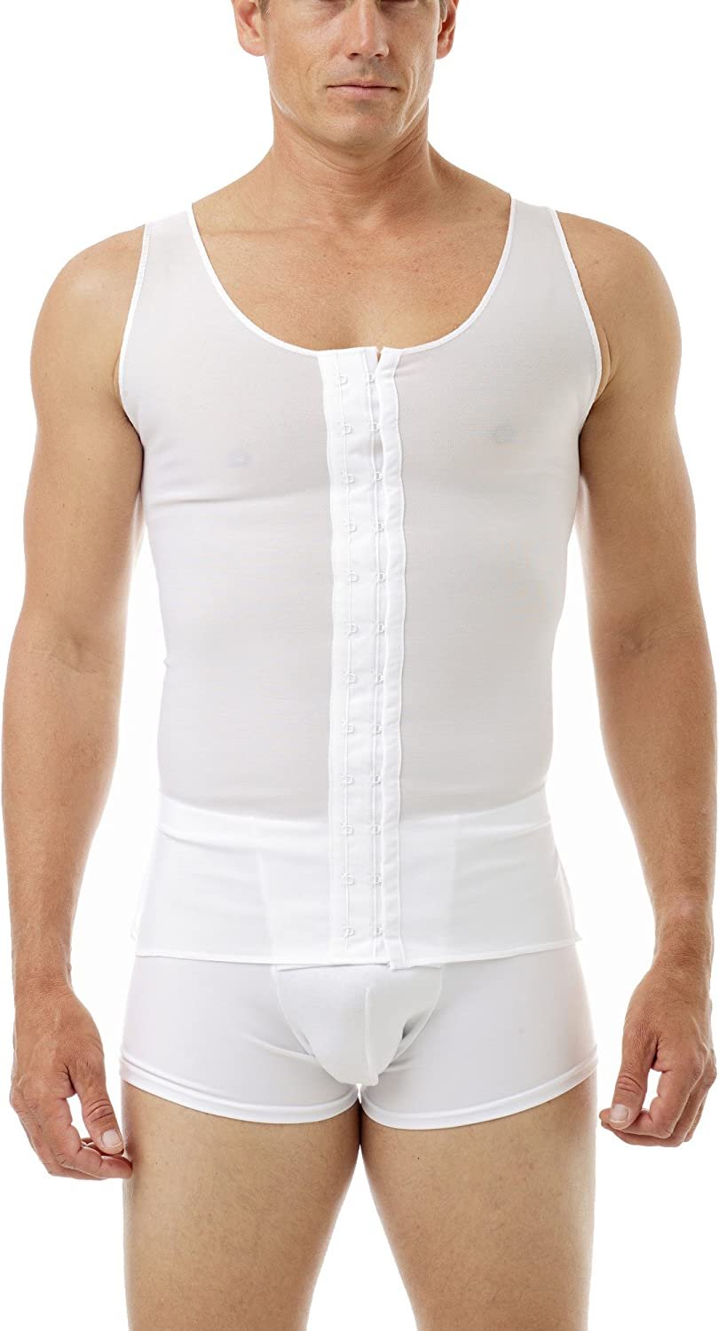 Underworks Mens Gynecomastia Pre-Surgical Chest Super popular specialty Bombing free shipping store Post-Surgical Bi