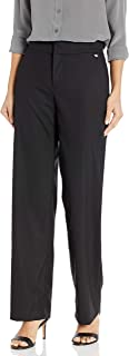 Women's Stretch Cotton Straight Fit Refined Suiting Pant