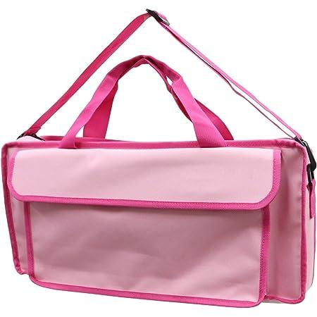 KC キョーリツ 鍵盤ハーモニカバッグ 2Wayタイプソフトケース KHB-08/Peach Pink (ショルダーストラップ付属)