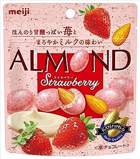 明治 アーモンドチョコレートストロベリー 47g ×10袋