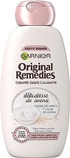 Garnier Original Remedies Delicatesse Oat Shampoo for Sensitive and Normal Scalp – 300 ml