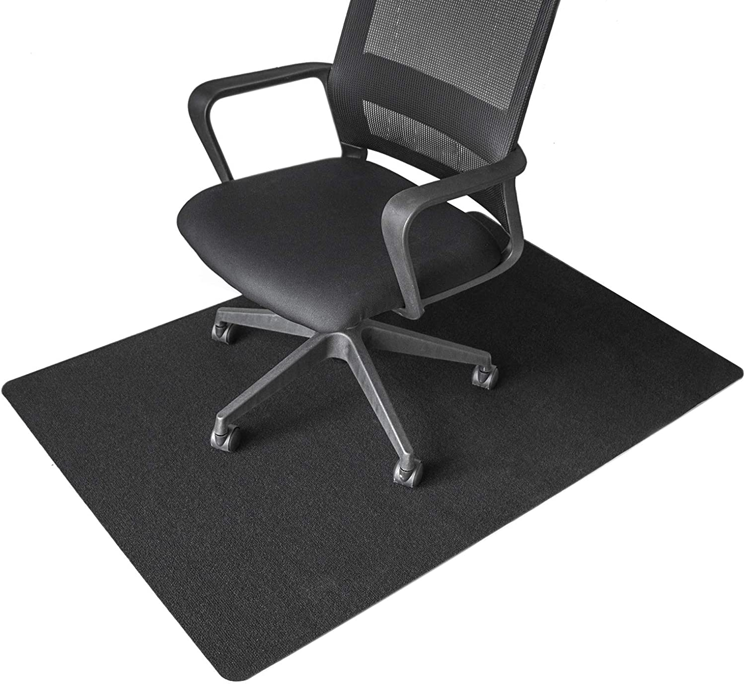 Aobopar Office Chair Mat Desk Chair Mat for Protecting Hardwood Floor Thick Floor Protector Home and Office Desk Chair Carpet (55