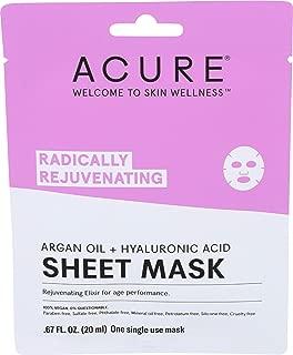Acure, Mask Sheet Radically Rejuvenating, 0.676 Fl Oz