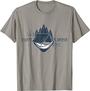 Mens Happy Camper Hammock T-Shirt - Hammock Camping Tee