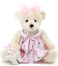 Oitscute Small Baby Teddy Bear with Cloth Cute Stuffed Animal Soft Plush Toy 10