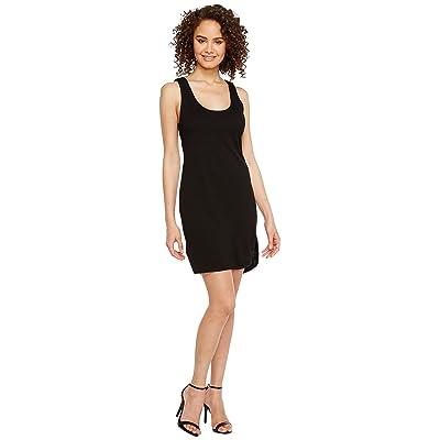 Lanston Twist Back Dress (Black) Women